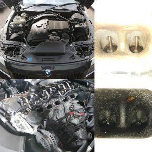 BMW Z4 – Walnut Blast